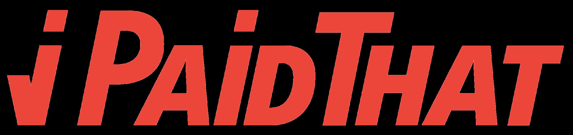 Logo iPaidThat